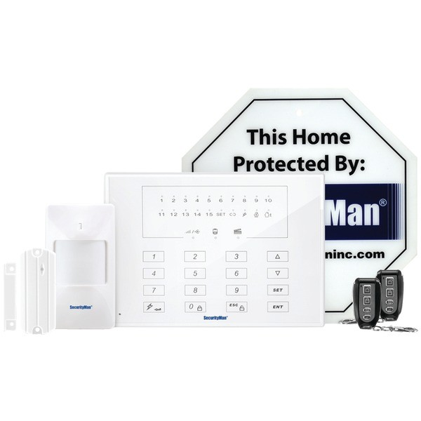 SECURITYMAN Air-Alarm-IIE DIY Smart Wireless Home Alarm System Economy Kit