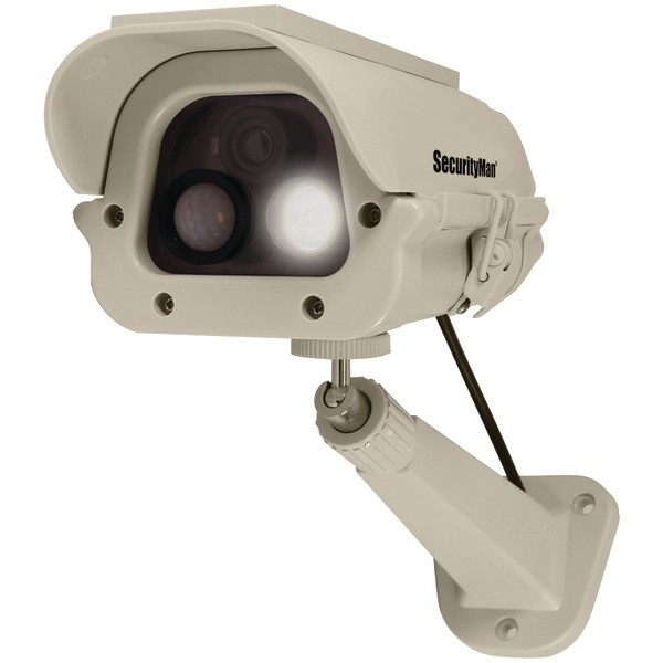 SECURITYMAN DUMCAM-SLM Simulated Spotlight Camera with Motion Sensor
