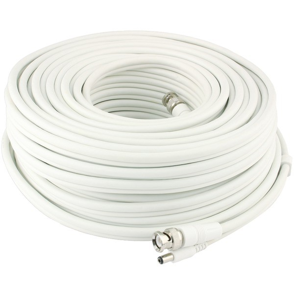 SWANN SWPRO-30MFRC-GL Fire-Rated BNC Extension Cable (100 ft)