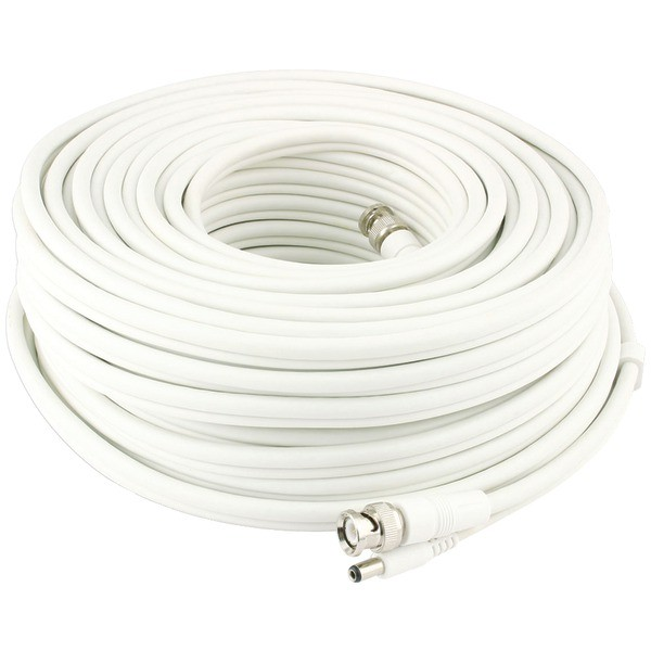 SWANN SWADS-30MBNC BNC to BNC Video & Power Extension Cable for CCTV Cameras (100ft)